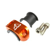 "Master Cylinder Perch Rotator Clamp ORANGE to fit 7/8"" bars"