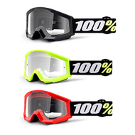 100% Strata Mini Goggles | Ideal For Riders Aged 4+ (HP-50600)