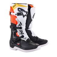 Alpinestars Tech 3 Youth Boots | Black/White/Red/Fluo Yellow (A13018123809)