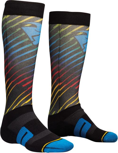 Thor Moto Sub Socks - Rodge Multicoloured (UFWSR12)