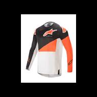 Alpinestars Techstar Factory Jersey Anthracite/Orange/Off White (A37610211448X)