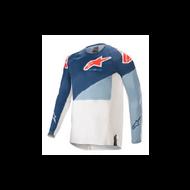 Alpinestars Techstar Factory Jersey Dark Blue/Powder Blue/Off White (A37610217172X)