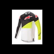 Alpinestars Techstar Factory Jersey Black/ Fluo Yellow/ White (A37610211552X)