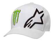 ALPINESTARS MONSTER CORP HAT WHITE (A1MO98765020SM)