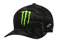 ALPINESTARS MONSTER MULTICAMO HAT BLACK (A1MO98765210SM)