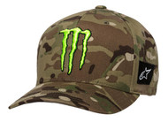 ALPINESTARS MONSTER MULTICAMO HAT GREEN (A1MO98765260SM)