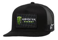 ALPINESTARS MONSTER CHAMP TRUCKER HAT BLACK/BLACK (A1MO9876541010)