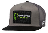 ALPINESTARS MONSTER CHAMP TRUCKER HAT GREY/BLACK (A1MO9876541110)