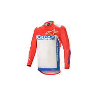 Alpinestars Racer Supermatic Jersey Bright Red/Blue/Off White (A37615213172X)