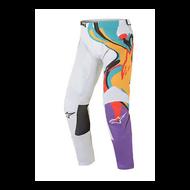 Alpinestars Racer Flagship Pants Off White/Multicolour (A3721321252XX)