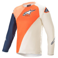 Alpinestars 2021 Youth Racer Blaze Jersey Orange/Dark Blue (A3770421477X)