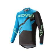 Alpinestars 2021 Youth Racer Braap Jersey Dark Blue/Powder Blue/Red (A37714217173X)