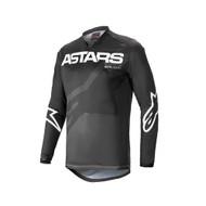 Alpinestars 2021 Youth Racer Braap Jersey Black/Anthracite/White (A3771421140X)