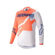 Alpinestars 2021 Youth Racer Braap Jersey Orange/Grey/Blue (A37714214177X)