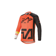 Alpinestars 2021 Racer Compass Jersey Orange/Anthracite/Off White