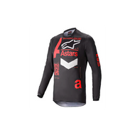 Alpinestars Fluid Chaser Jersey Black/Bright Red (A37624211303X)