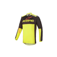 Alpinestars Fluid Tripple Jersey Black/Fluo Yellow/Bright Red (A37625211533X)