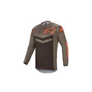 Alpinestars Fluid Speed Jersey Dark Grey/Orange (A37626219344X)