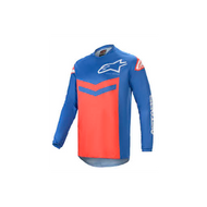 Alpinestars 2021 Fluid Speed Jersey Blue/Bright Red