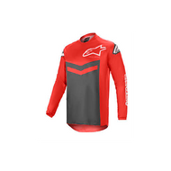 Alpinestars Fluid Speed Jersey Bright Red/Anthracite (A37626213011X)