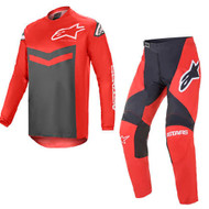 Alpinestars 2021 Fluid Speed Bright Red/Anthracite Adult Combo (A37626213011X-A37226213011XX)