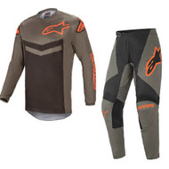 Alpinestars 2021 Fluid Speed Dark Grey/Orange Adult Combo (A37626219344X-A37226219344XX)