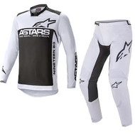 Alpinestars 2021 Racer Supermatic Light Grey/Black Adult Combo (A37615219210X-A37215219210XX)