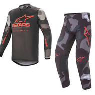 Alpinestars 2021 Racer Tactical Grey Camo/Fluo Red Adult Combo (A376212219133X-A37212219133XX)