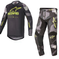 Alpinestars 2021 Racer Tactical Grey Camo/Fluo Yellow Adult Combo (A376212219155X-A37212219155XX)