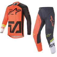 Alpinestars 2021 Racer Compass Orange/Anthracite/Off-White Adult Combo (A37621214442X-A37221214442XX)