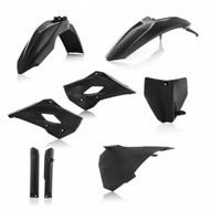 6 Piece Acerbis Plastic Kit in Black, TC85 2013 - 2017 (0022808.090)