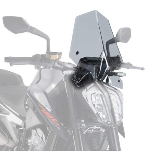 Puig Sport Screen | Light Smoke | KTM 790 Duke 2018> (M9668H)
