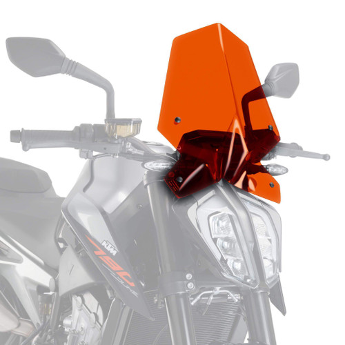 Puig Sport Screen | Orange | KTM 790 Duke 2018> (M9668T)