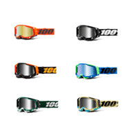 100% Racecraft 2 Goggles Mirrored Lens (50121-252-)