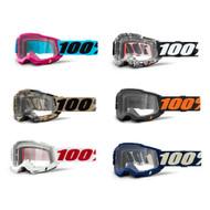 100% Accuri 2 Goggles Clear Lens (50221-101-)