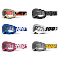 100% Strata 2 Goggles Clear Lens (50421-101-)