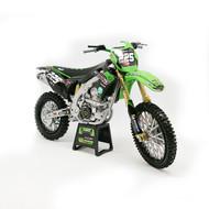 Kawasaki Model - Brian Modeau #225 / Mitchell Harrison #35 / Jimmy Clochet #520 | Bud Racing Race Team Toy (TOY053)