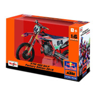 1:6 MOTORBIKE RED BULL KTM SUPERCROSS SX450 #84 (TOY055)