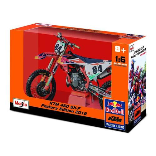 1:6 Herlings MOTORBIKE RED BULL KTM SUPERCROSS SX450 #84 (TOY055)