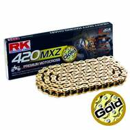 RK Gold MX Chain GB420MXZ D x 130 - Gold