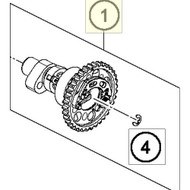 CAMSHAFT CPL. WITH DECO (79436010044)