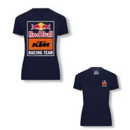 KTM Red Bull Women's Back print Tee (3RB21005820X)