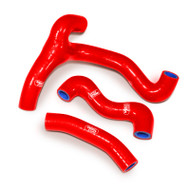 Gas Gas MC 50 2021 | 3 Piece Red Samco Sport Silicone Radiator Coolant Hose Kit (SHK033)