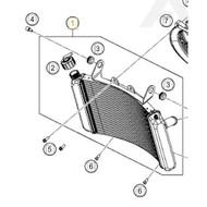 Water Radiator (64135010000)