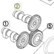 CAMSHAFT INTAKE FRONT (61136009000) (61136009000)