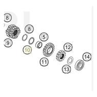 thrust washer 19.1x24.5x1 (47233042000) (47233042000)