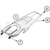 Rear fender (25108013100ABA) (25108013100ABA)