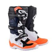 Alpinestars Tech 7S Boot Black/White/Orange (A15017124107)