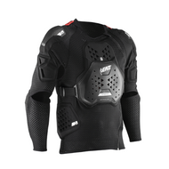 Leatt Black Body Protector 3DF Airfit Hybrid (LB502000420X)