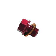 Judd Magnetic Drain Plug Gas Gas MC 50, 65, 85, 125 2021> RED Size: M12 X 12MM X 1.5 (MDB001-RD)